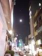 代々木の月夜